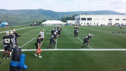 The New Orleans Saints wrapped up training camp in West Virginia on Wednesday.