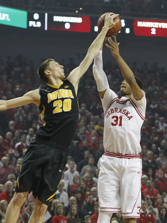 NCAA Basketball: Iowa at Nebraska