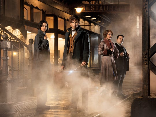 """2. """"Fantastic Beasts and Where to Find Them"""": Much like """"Rogue One"""" spins off of the """"Star Wars"""" universe, """"Fantastic Beasts"""" is an offshoot of the """"Harry Potter"""" franchise, but isn't a """"Harry Potter"""" movie per se. This film stars Oscar winner Eddie Redmayne and deals with the the wizards who walk among us. J.K. Rowling wrote the screenplay, which is based on her 2001 book of the same name. (Nov. 18)"""