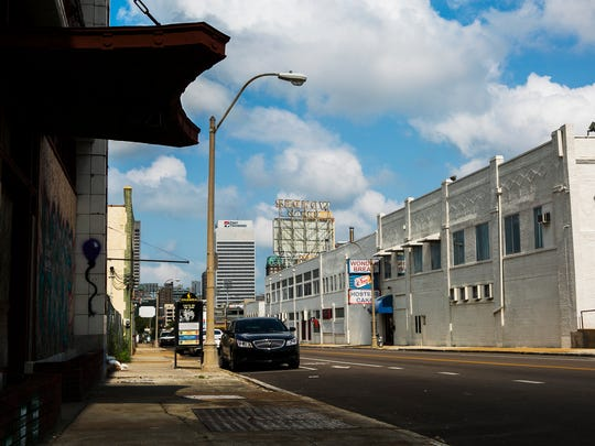 August 8, 2017 - The old Wonder Bread bakery, located at 400 Monroe, stands vacant in the Edge District. The Center City Revenue Finance Corp. board will vote Tuesday on a 20-year partial property tax freeze for a $73 million development in the neighborhood.
