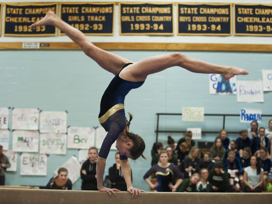 High School Gymnastics Championship 02/20/16