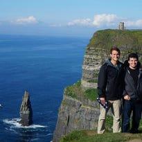 Andrew Rospert, James Tobin, and Mykel Kilgore visited Venice, Italy during Rospert's semester abroad.
