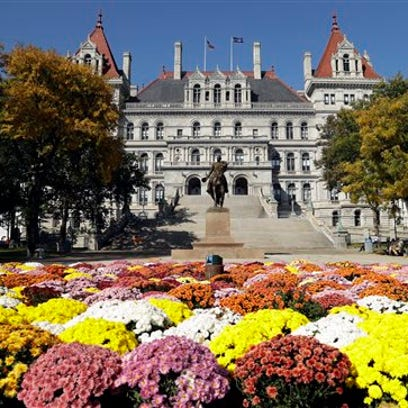 The state Capitol is seen on Tuesday, Oct. 18, 2016,