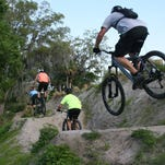 """Riders enjoy the """"West Endies"""" section of the Grapefruit Trails in Palm Bay."""