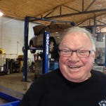 Ron Lyons, owner of Lyons Alignment and Auto Repair at 401 N. Third St. in Lafayette, celebrated his 50th anniversary in business on Sunday, March 1, 2015.