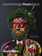 """""""Something to Food About,"""" is Questlove's new book, released in April. It features interviews with 10 innovative chefs."""