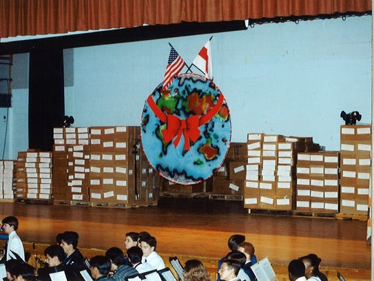 Boxes of medicine collected and shipped by the Ramapo