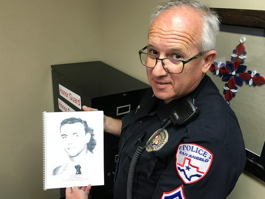 SAPD Officer Steven Quade helped a San Angelo woman