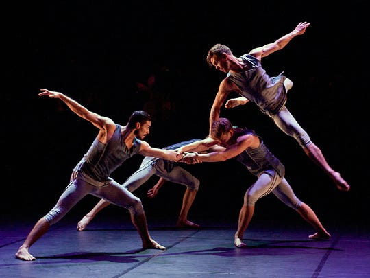 "BalletBoyz in ""Mesmerics,"" coming to Scottsdale in February."