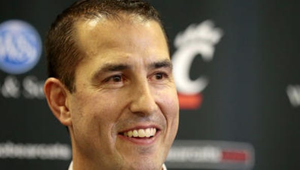 New University of Cincinnati football coach Luke Fickell