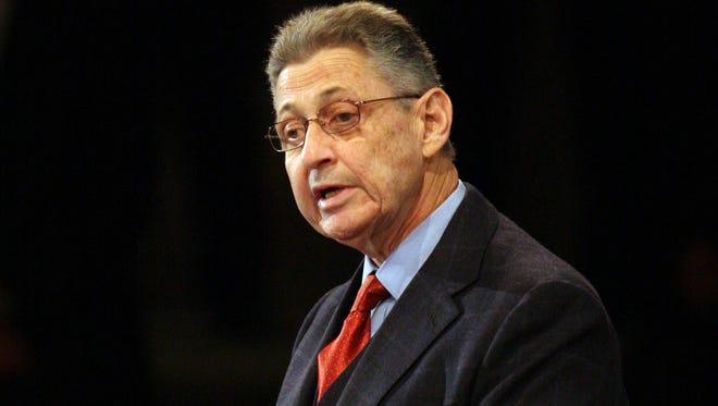 New York State Assembly speaker Sheldon Silver