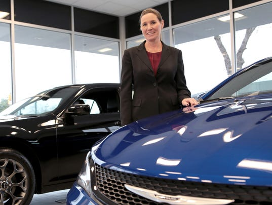 Colleen McDonald, owner of Livonia Chrysler Jeep