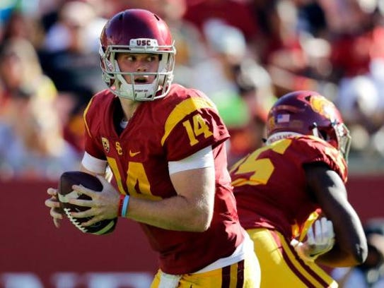 Sam Darnold led USC to big wins over Washington and