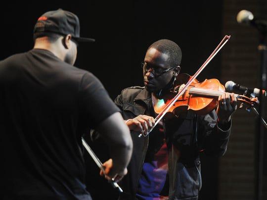 Black Violin will perform Feb. 18 at Clowes Hall.