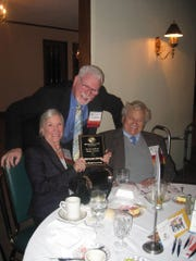 Debra and Jack Edelman, seated, were honored by the Boys & Girls Clubs of Wayne County in 2013.