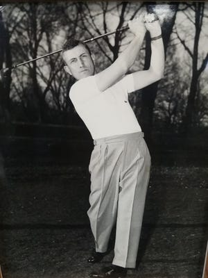 N.L. Deaver was the Gypsy Hill Golf Course's professional from 1942 to 1979. He died in the mid 1990s.