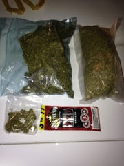A Winn Parish man stopped for a traffic violation ended up arrested Sunday night after Natchitoches Parish Sheriff's deputies found more than a pound of high-grade marijuana in his truck, according to a release.