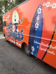 Clam Jammers food truck from Rhode Island was transformed