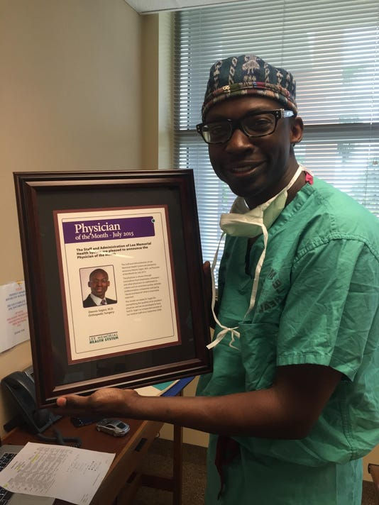 Dr. Sagini Awarded Physician of the Month