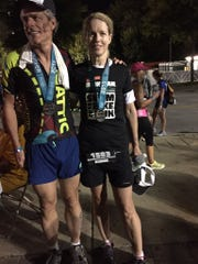 The finishers - Bonnie and Lonnie