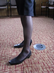 Women's hosiery, perhaps nylon's most famous application.