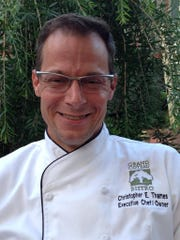 Chef Christopher Thames owns the Grand Coteau Bistro.