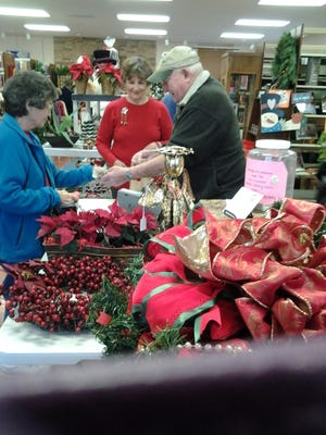 Find unique gifts at the Capitan Public Library's Christmas Bazaar Saturday.