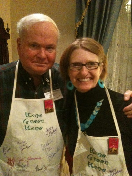 Pat Conroy and Judy Christie