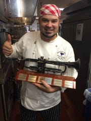 Chef Joey Ray has won awards for his cooking.