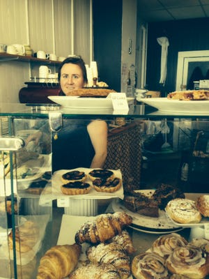 Katie Bushueff works at Barrio Bakery on North Winooski Avenue in the Old North End.