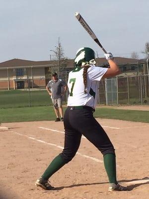 Howell's Jordan Humitz (7) has seven home runs this season, five of which she hit last week.