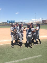The Onate softball team beat Cleveland 11-1 on Friday to advance to Saturday's Class 6A state championship game.