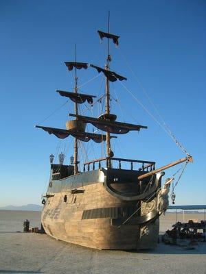 La Contessa sailed the playa at Burning Man in 2002, 2003 and 2005.