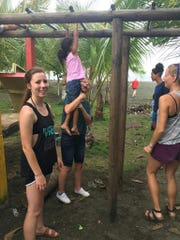 Elizabeth Judd works at an orphanage in Costa Rica