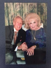 "Bob and his wife, Eileen ""Mike"" Pollock."