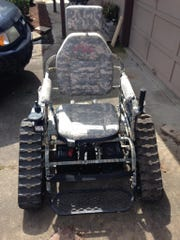 Wheelchair stolen from Falls City on Wednesday.