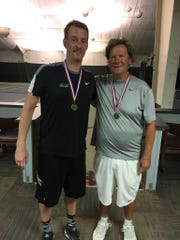 Jay Harris and Ron Schaub are multiple winners of men's