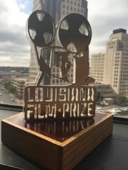 Louisiana Film Prize's custom award designed and constructed