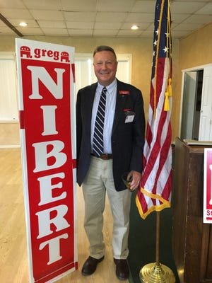 Federated Republican Women of Lincoln County welcomed guest speaker, Greg Nibert candidate for House of Representative District 59 which includes Lincoln and Chaves counties to their monthly meeting August 22 at Cree Meadows Country Club. Nibert expressed his views as fighting for the rights of the people of Eastern New Mexico getting their fair share. Nibert has been a Chaves County Commission member and fought to protect county rights against closing off areas in order to protect certain unverified endangered species from rancher, farmers, and the people who own the land.