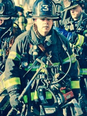 "Jim Lowe, nephew of Renie Saucier of Alexandria, is a New York City firefighter who was involved in rescue and recovery operations at Ground Zero after the Sept. 11,  2001, terrorist attacks. ""It was a war zone,"" he wrote in a journal at the time."