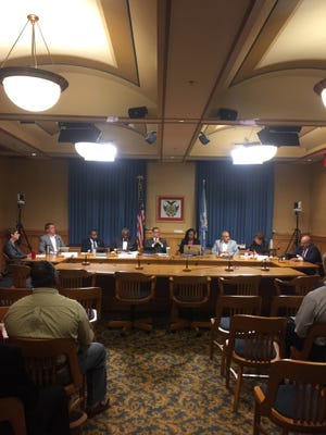 Milwaukee water quality task force meets Friday at City Hall to discuss use of faucet filters to remove lead from household drinking water. --- credit: Don Behm