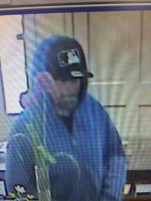 Salisbury police said this man robbed the First Shore Federal Bank near Mount Hermon Road on Sept. 26, 2016.