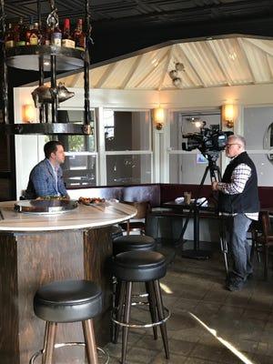 Diamonds and Mr. B's Rustic Tavern owner Adam Merkel is interviewed in The Silver Pig.