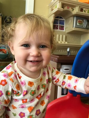 Cecilia Lee Moore, Oct. 24, 2015. Daughter of Dr. Nick Moore and Jessie Gray.