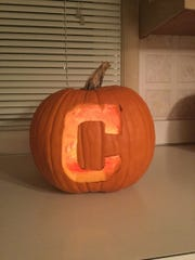 Reader Rita Owens submitted this photo of her carved