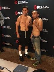 Ruben Villa fights Aaron Echeveste Lopez tonight in Corona.