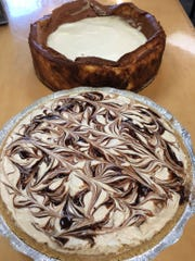 Homemade peanut butter pie and cheesecake are among