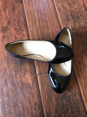 The Christian Louboutin flats that I got for a steal