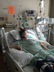 Katie Gazlay, 34, at Aurora St. Luke's Medical Center