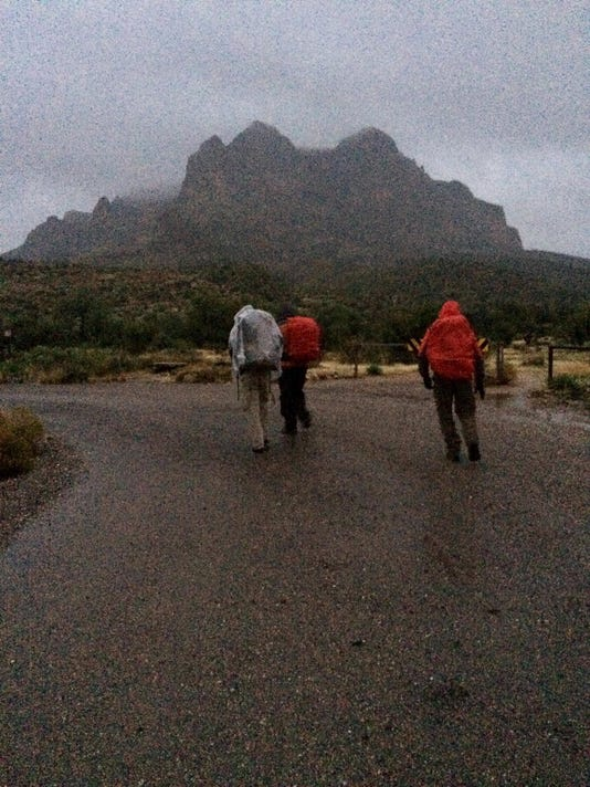 Pinal Sheriff and DPS rescue stranded Christmas Eve hiker